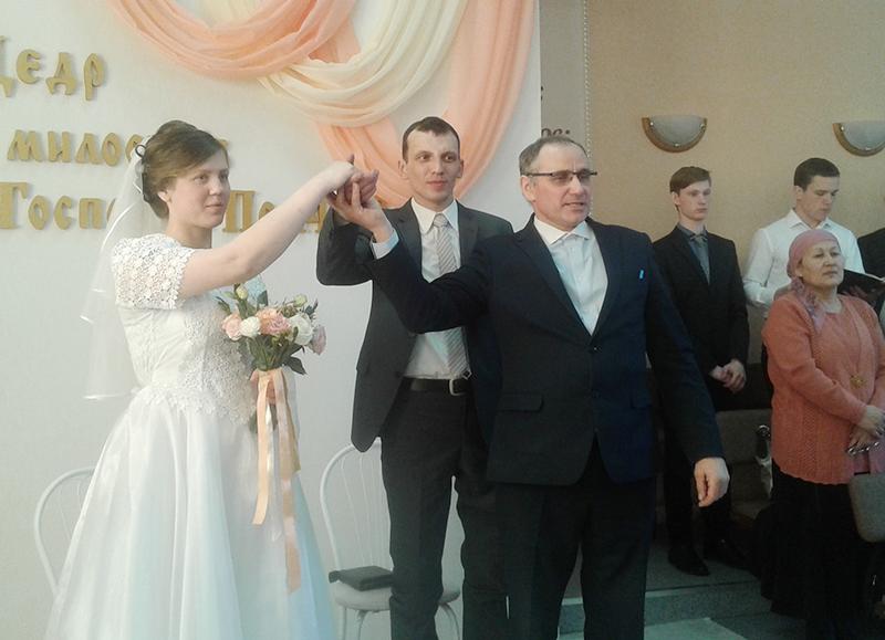 Отныне Кирилл и Татьяна объявляются мужем и женой