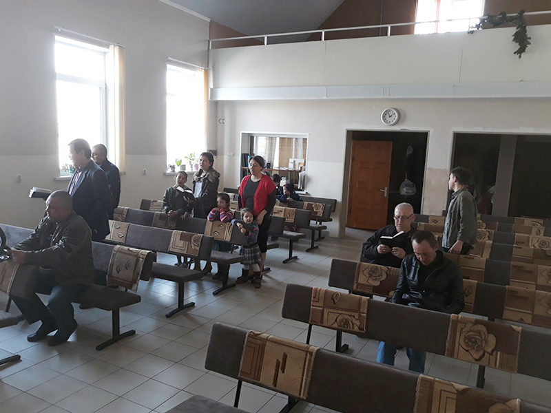 Служение в городе Волжский